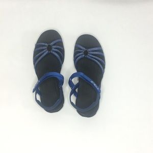 Teva royal blue strappy sport sandals - Size: 8.5
